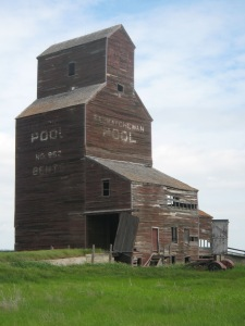 The Bents grain elevator.