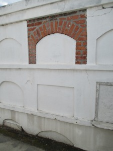 Oven vaults (the cheapest and least desirable type) at St. Louis #1 cemetery.