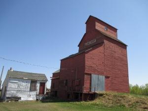 Prongua's grain elevator.
